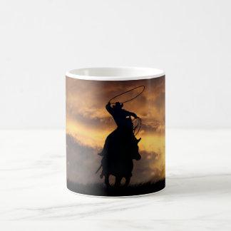 Cowboy-PferdeRoping Tasse