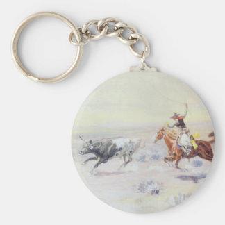 Cowboys vom Bar-Dreieck durch cm Russell Schlüsselanhänger