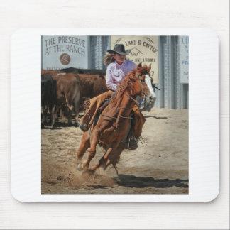 cowgir mousepad