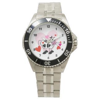 Cowgirl-Liebe Uhr