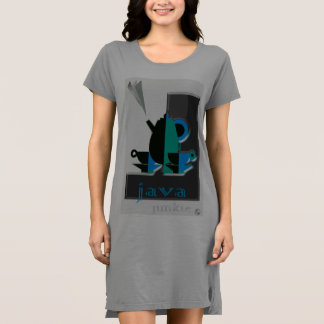 Cozy T - Shirt-Kleid hergestellt für Kleid