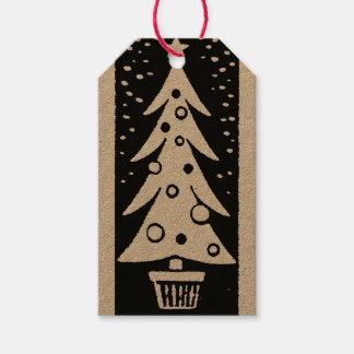 Crafty Weihnachtsumbauten Geschenkanhänger