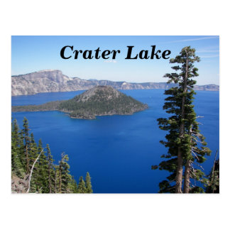 Crater See-Nationalpark-Foto Postkarte