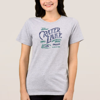 Crater See-Nationalpark-Oregon-Shirt T-Shirt