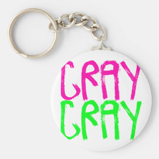 Cray Cray Standard Runder Schlüsselanhänger