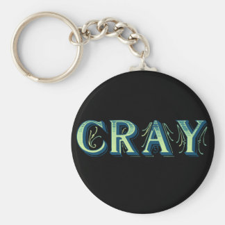 Cray Standard Runder Schlüsselanhänger
