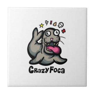 CrazyFoca Keramikfliese