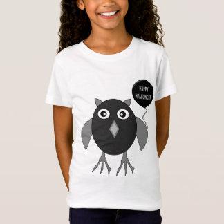 Creepy Halloween-Party-Eule scherzt T-Shirt