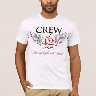 CREW von T-STÜCK 42 mit Mitgliedern auf T-Shirt