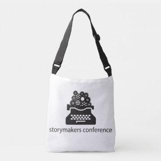 Crossbody Tasche mit schwarzem Logo