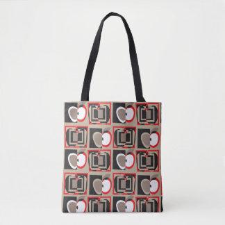Cubist-Apfel-Tasche