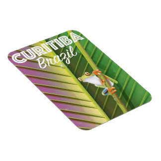 Curitiba, Brasilien-Reiseplakat Magnet