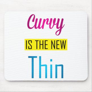 Curvy - Mausunterlage Mousepad