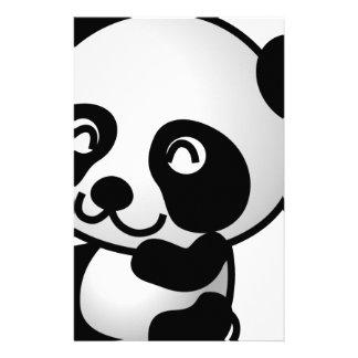 Cute little panda büropapiere