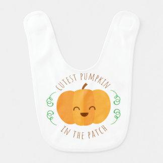 CutestPumpkinInThePatchCircle Lätzchen