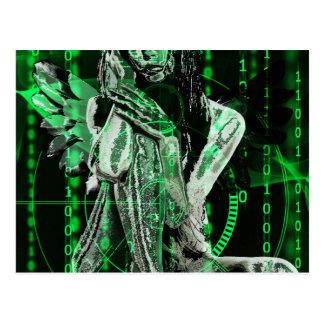 Cyberengel Postkarte