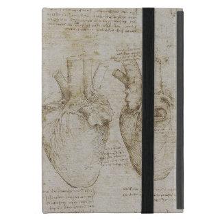 Da Vincis menschliche Herz-Anatomie-Skizzen iPad Mini Schutzhülle