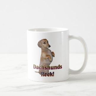 Dackel-Felsen Lilly Kaffeetasse