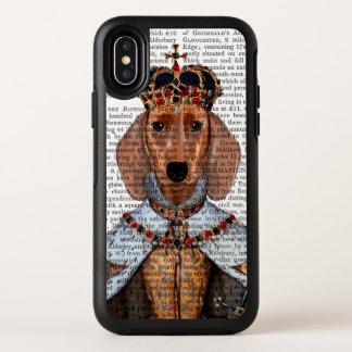 Dackel-Königin OtterBox Symmetry iPhone X Hülle