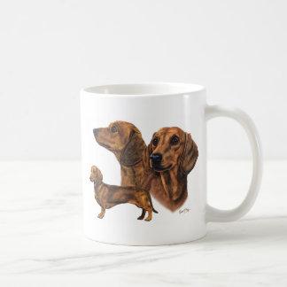 Dackel Kaffee Haferl