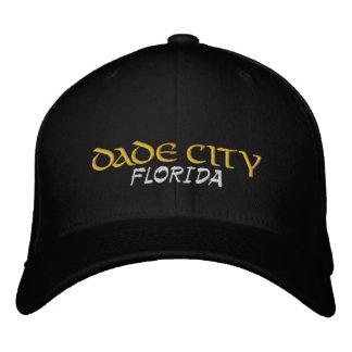 Dade Stadt gestickter Hut