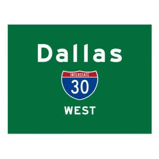 Dallas 30 postkarte