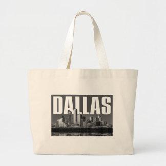 Dallas-Stadtbild Jumbo Stoffbeutel
