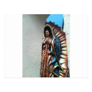 Dame Guadalupe durch Bernadette Sebastiani Postkarte