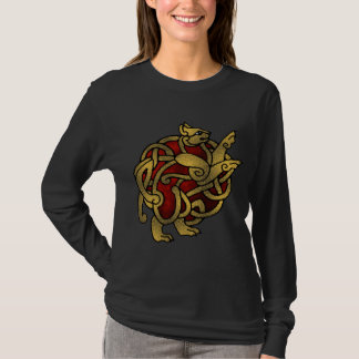 Dame Wikinger, Katzen-Shirt T-Shirt