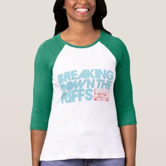 Damen 3/4 HülseRaglan (angepasst) T-Shirt