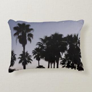 Dämmerung mit Palme-tropischer Szene Dekokissen