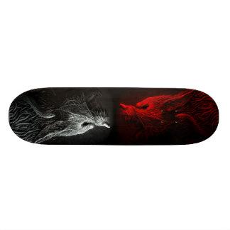 Dämon-Hund Individuelle Skateboarddecks