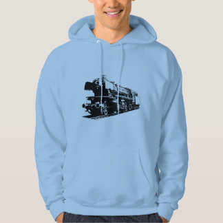 Dampf-Lokomotive - hochauflösend Hoodie