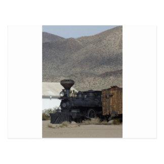 Dampf-Motor Postkarte