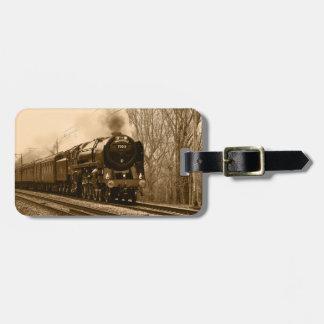 Dampf-Zug-Gepäckanhänger Adress Schild