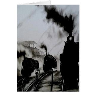 Dampf-Züge Karte