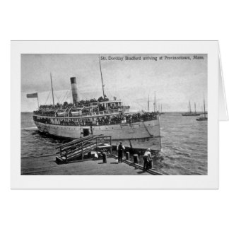 Dampfer Dorothy Bradford, Provincetown, Mass. Karte