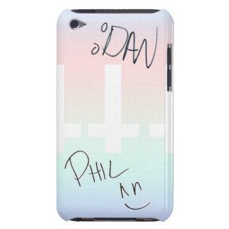 Dan und Phil signierten Kasten iPod 4g, Barely There iPod Hülle