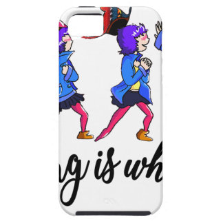 Dancing is what to do iPhone 5 etui