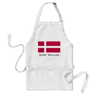 Dänemark-Flagge Schürze
