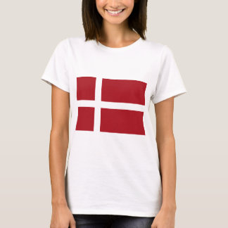 Dänemark-Flagge T-Shirt