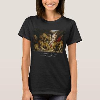 Daniel in der Farbe Peter Paul Rubens des Löwes T-Shirt