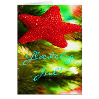 Dänisches Weihnachten Glædelig Jul Godt Nytår