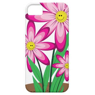 Dank für das Helfen ich wächst - glückliche Blume iPhone 5 Etuis