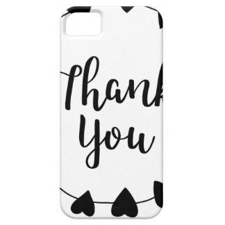 DANKE, danke zu kardieren iPhone 5 Hülle