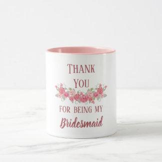 Danke für Sein meine Brautjungfer Tasse