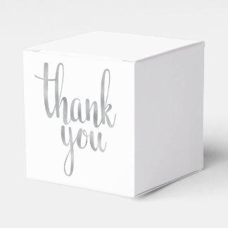 Danke, Kästen zu bevorzugen Geschenkkartons