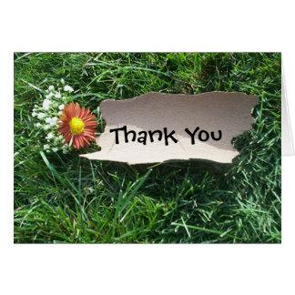 Danke (kundengerecht) grußkarte
