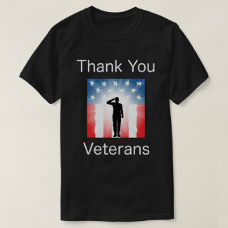 Danke Veterane, Shirt des Veterans Tages