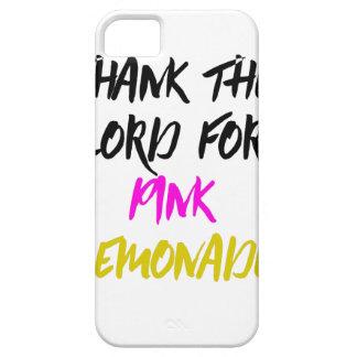 Danken Sie dem Lord für rosa Limonade Hülle Fürs iPhone 5